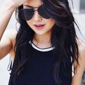 7a09a151924 le specs Accessories - Le Specs prince black on black Aviator Sunglasses